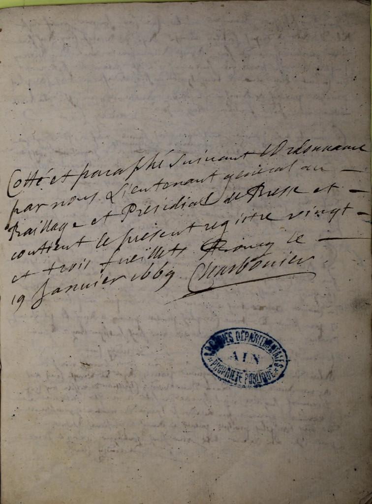 St André de Corcy AD BMS 1669-1730 vue 004
