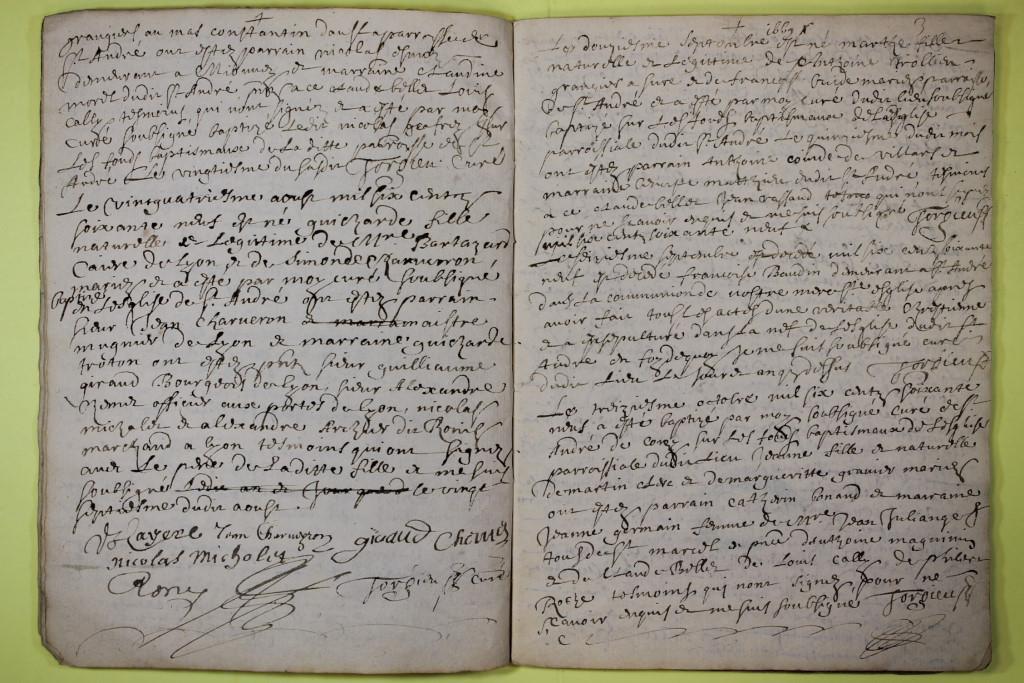 St André de Corcy AD BMS 1669-1730 vue 007