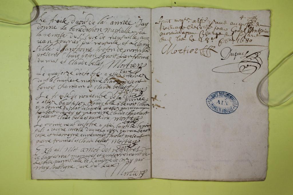 St André de Corcy AD BMS 1669-1730 vue 030