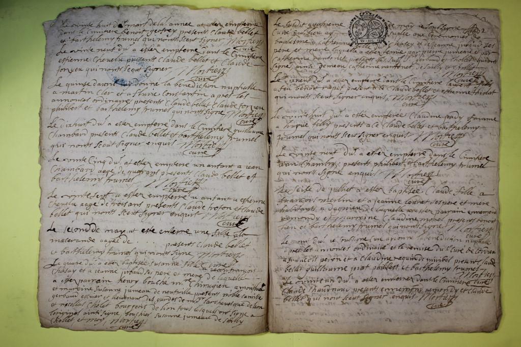 St André de Corcy AD BMS 1669-1730 vue 035