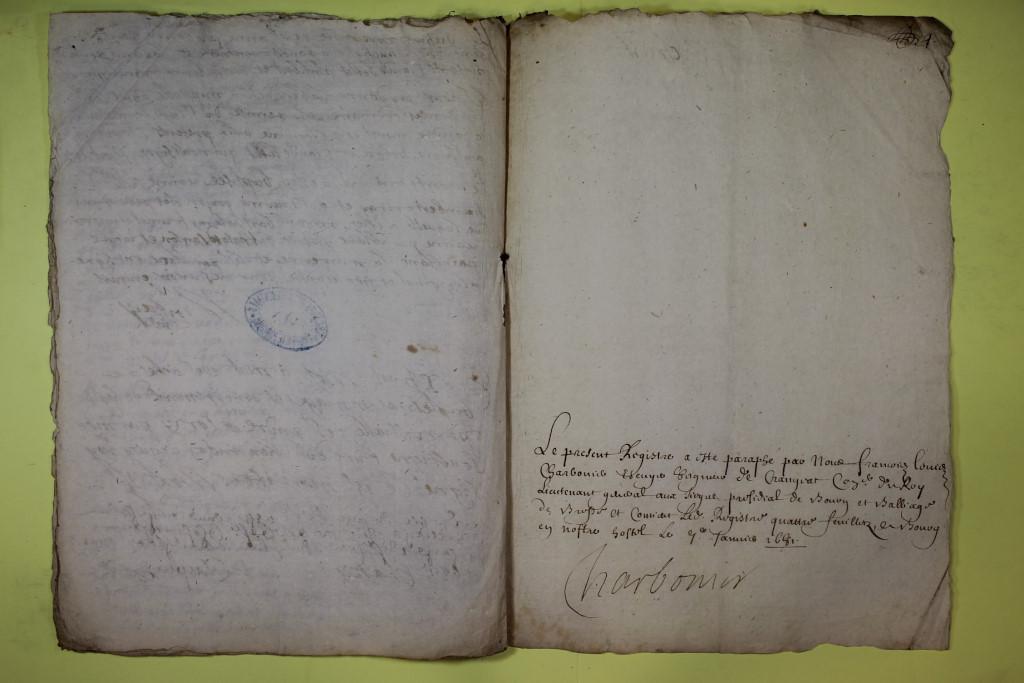 St André de Corcy AD BMS 1669-1730 vue 037