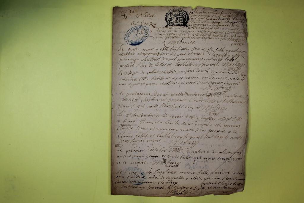 St André de Corcy AD BMS 1669-1730 vue 038