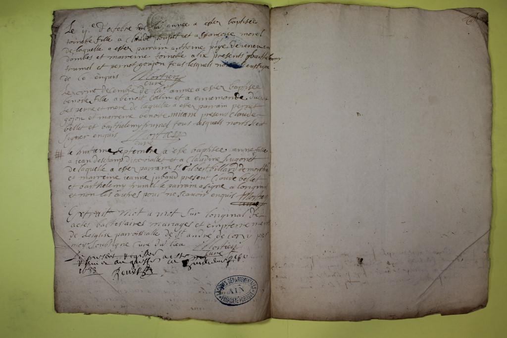 St André de Corcy AD BMS 1669-1730 vue 039