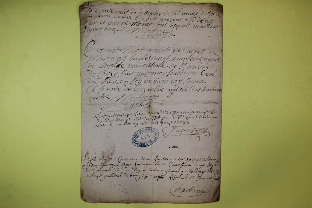 St André de Corcy AD BMS 1669-1730 vue 045