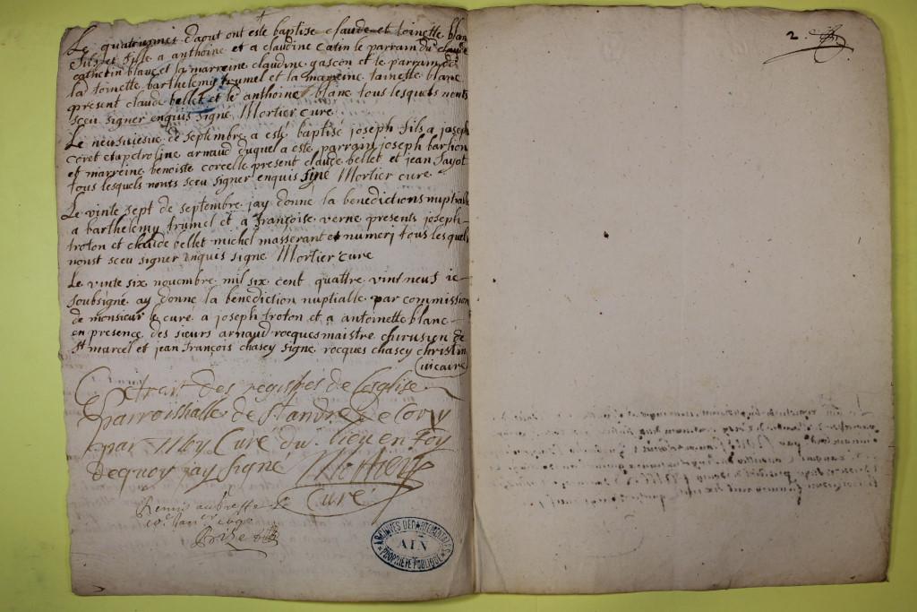 St André de Corcy AD BMS 1669-1730 vue 056