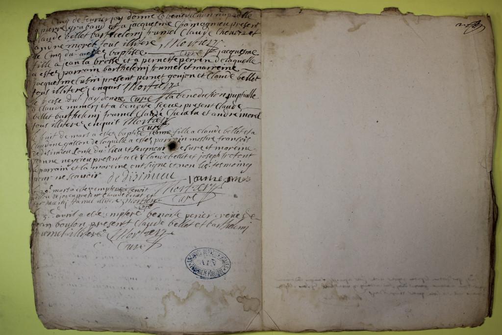 St André de Corcy AD BMS 1669-1730 vue 064