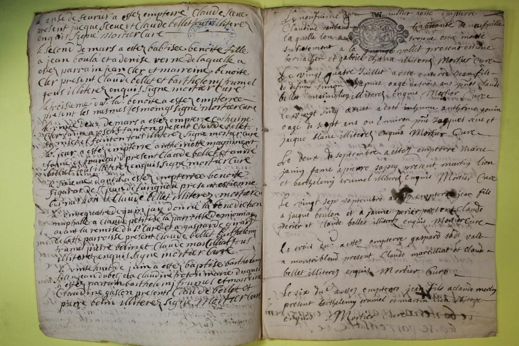 St André de Corcy AD BMS 1669-1730 vue 075