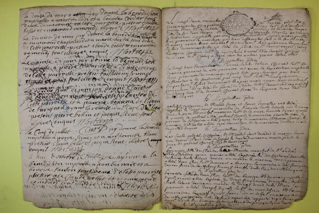 St André de Corcy AD BMS 1669-1730 vue 078