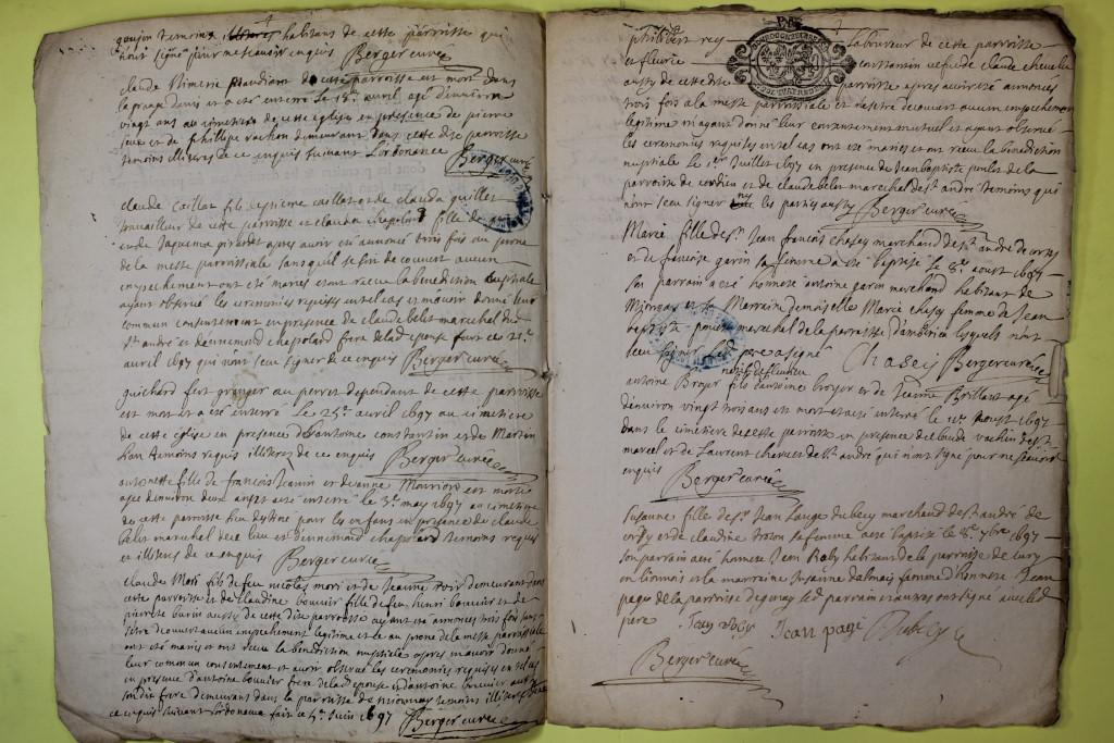 St André de Corcy AD BMS 1669-1730 vue 084