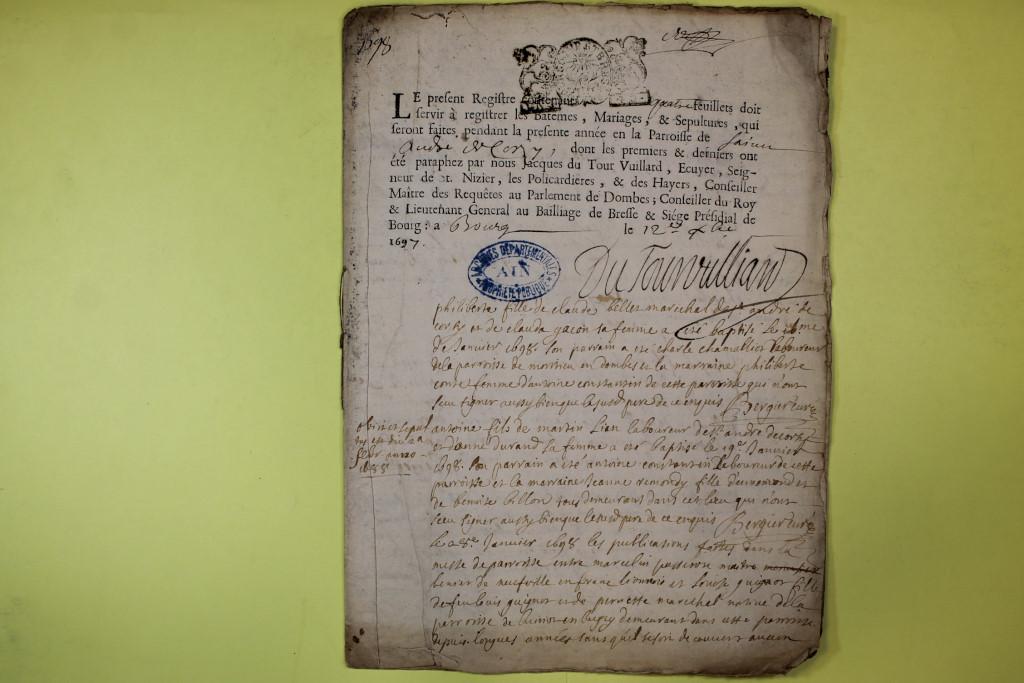 St André de Corcy AD BMS 1669-1730 vue 086