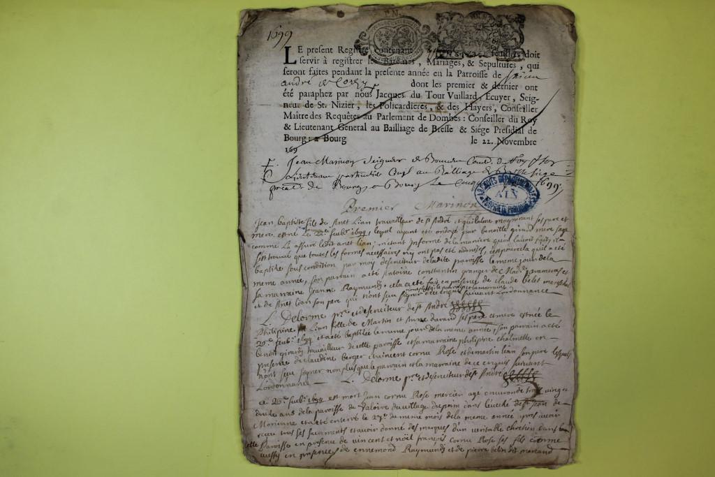 St André de Corcy AD BMS 1669-1730 vue 090