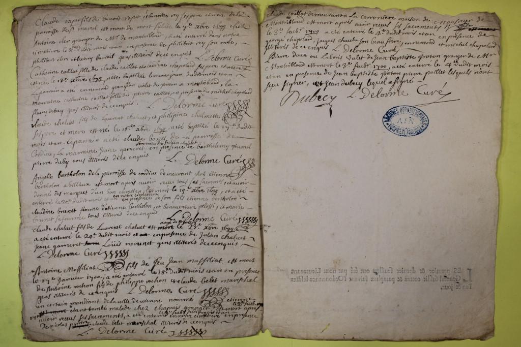 St André de Corcy AD BMS 1669-1730 vue 093
