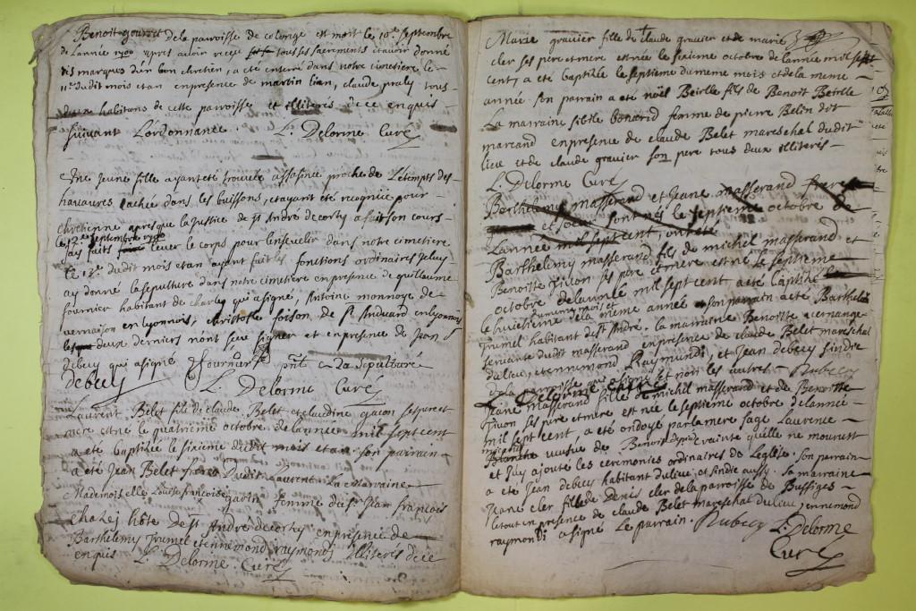 St André de Corcy AD BMS 1669-1730 vue 097