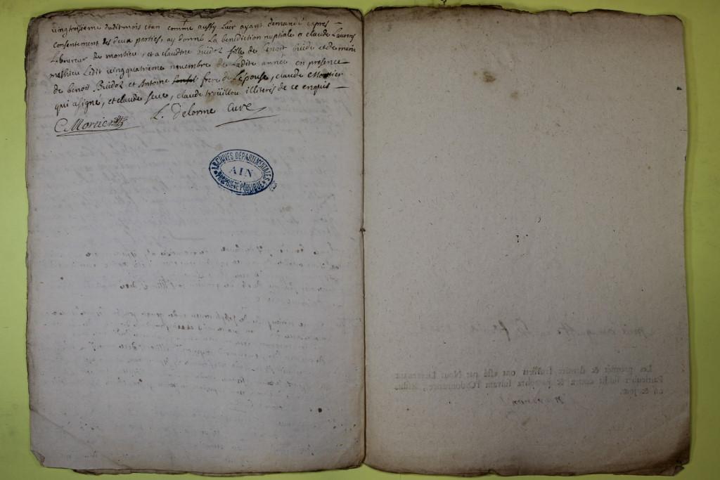 St André de Corcy AD BMS 1669-1730 vue 102