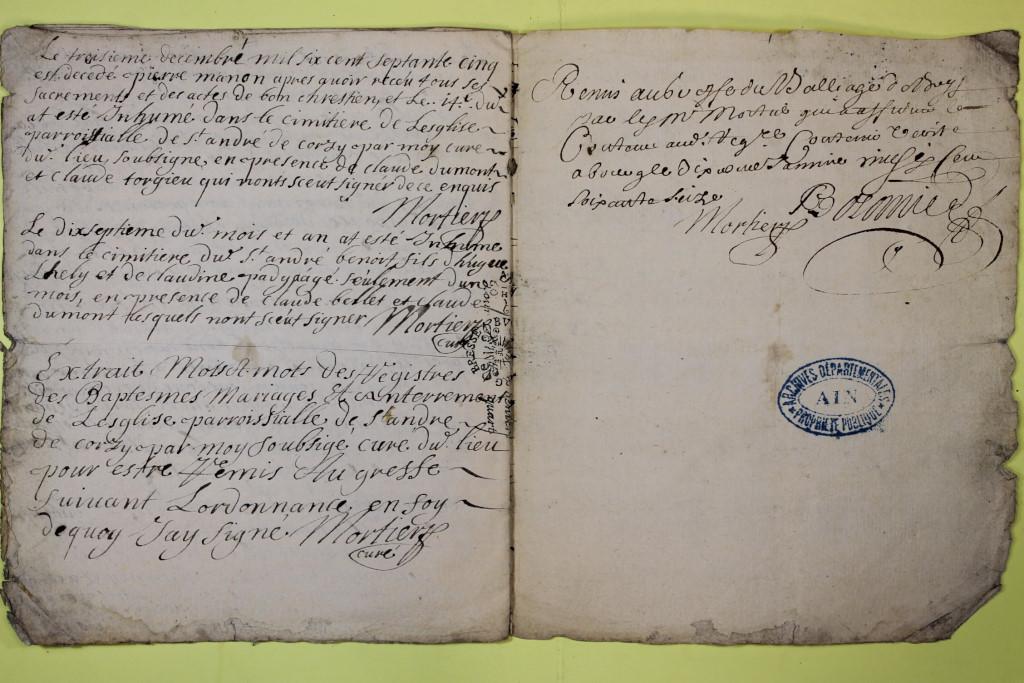 St André de Corcy AD BMS 1669-1730 vue 015