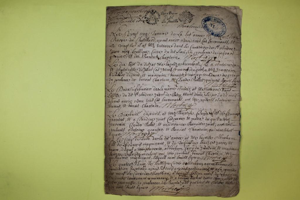 St André de Corcy AD BMS 1669-1730 vue 025