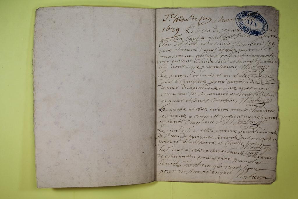 St André de Corcy AD BMS 1669-1730 vue 027