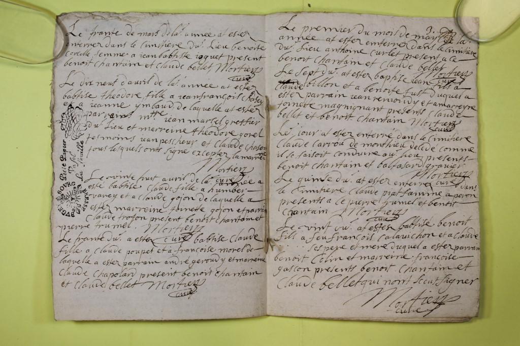 St André de Corcy AD BMS 1669-1730 vue 029