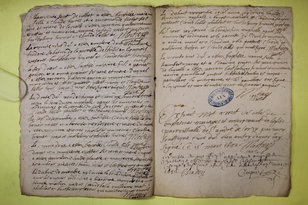 St André de Corcy AD BMS 1669-1730 vue 036