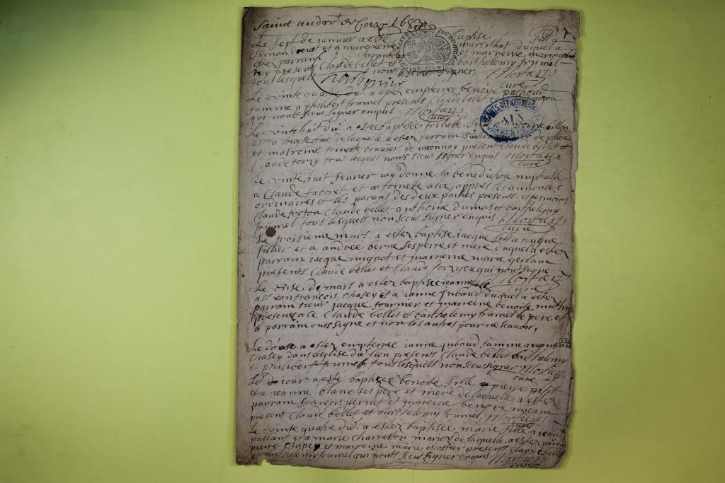 St André de Corcy AD BMS 1669-1730 vue 040