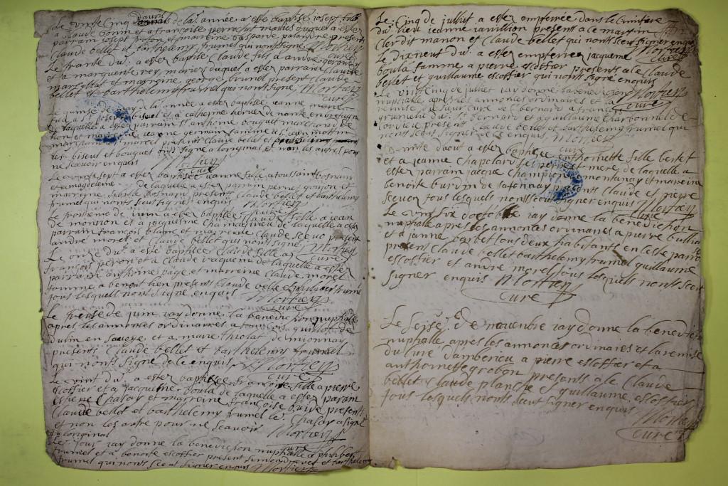 St André de Corcy AD BMS 1669-1730 vue 041