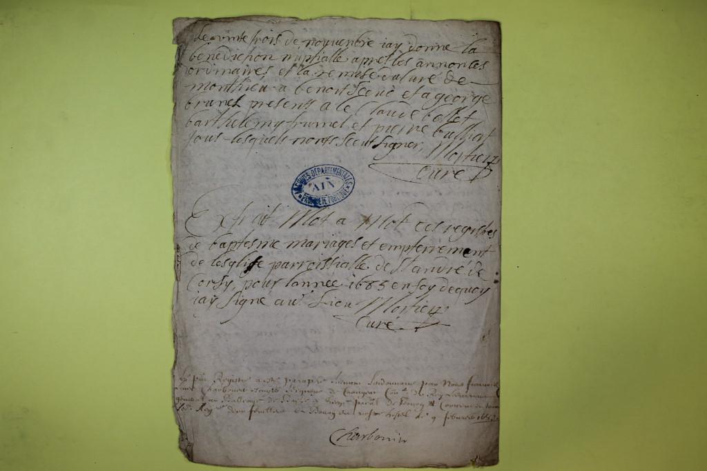 St André de Corcy AD BMS 1669-1730 vue 042