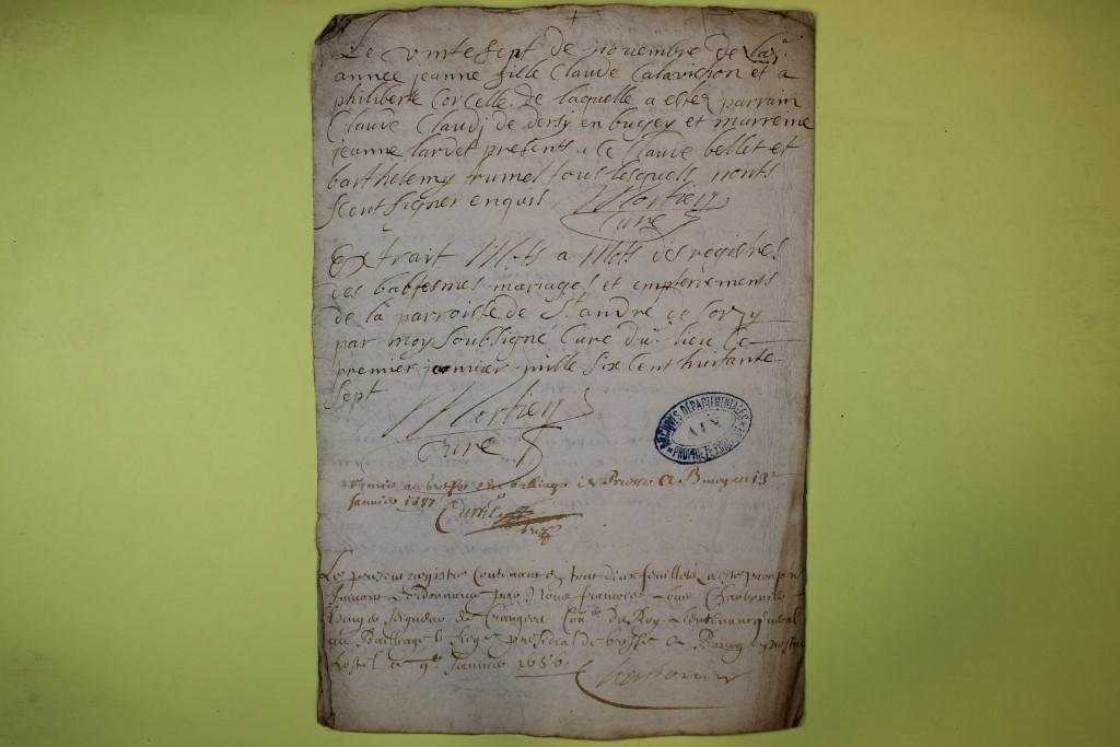 St André de Corcy AD BMS 1669-1730 vue 050
