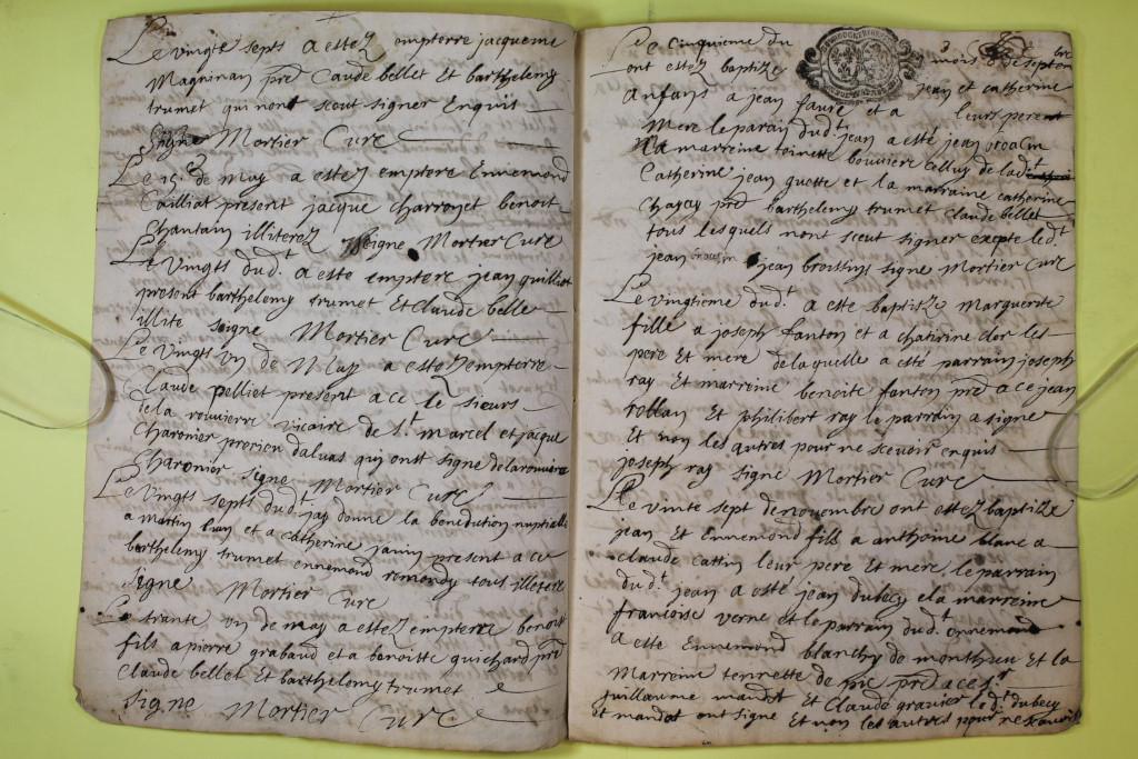 St André de Corcy AD BMS 1669-1730 vue 068