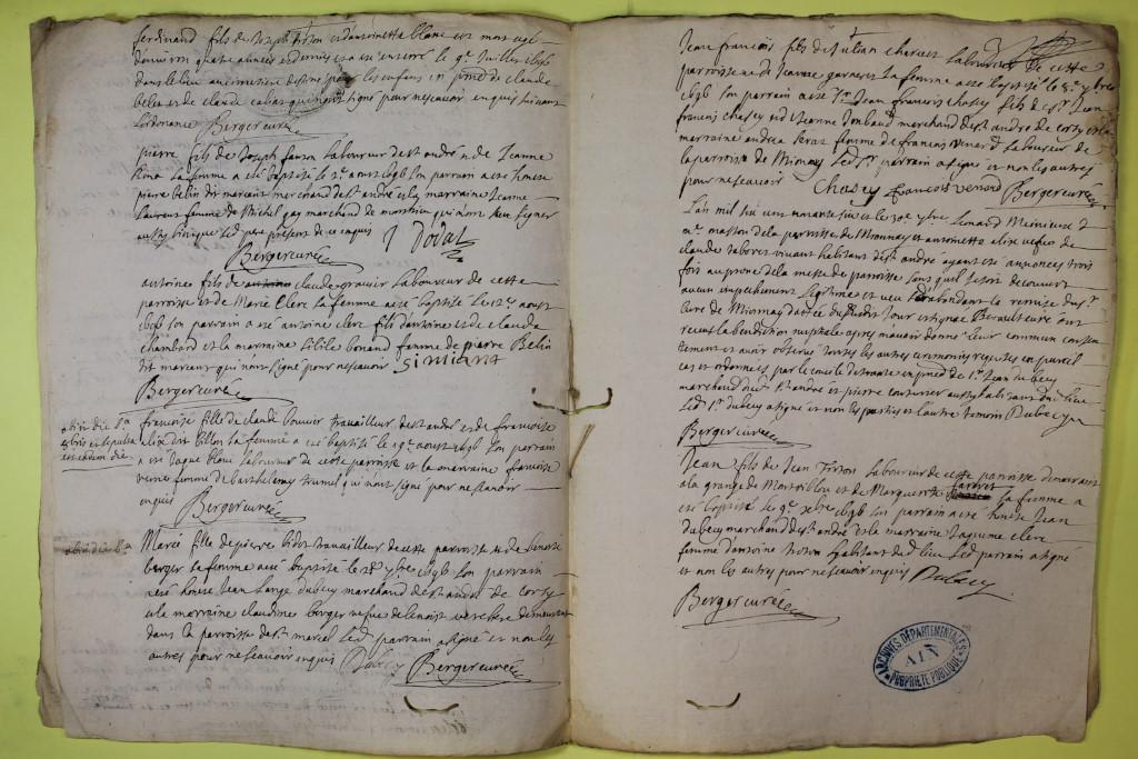St André de Corcy AD BMS 1669-1730 vue 082