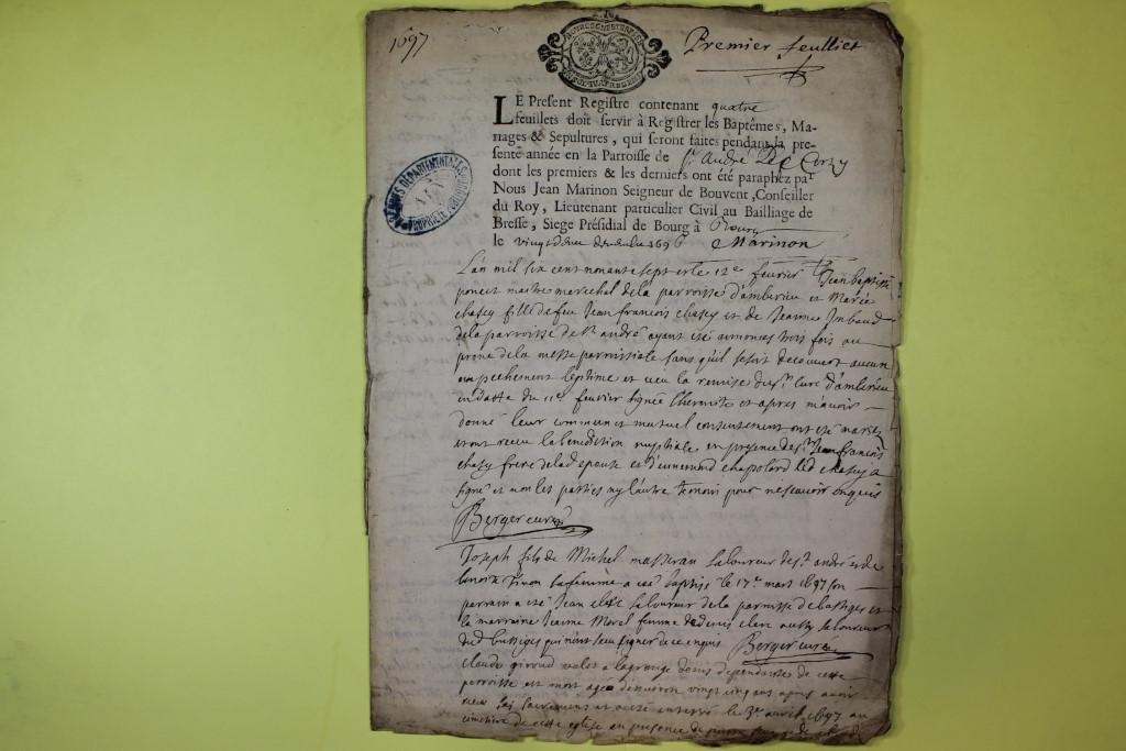 St André de Corcy AD BMS 1669-1730 vue 083