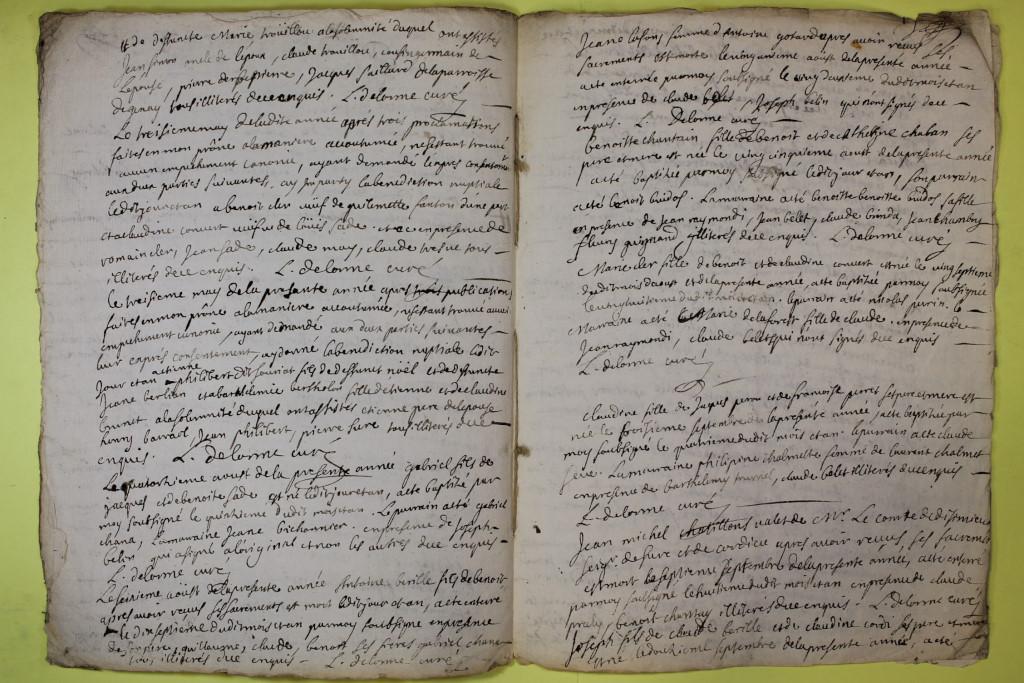 St André de Corcy AD BMS 1669-1730 vue 114