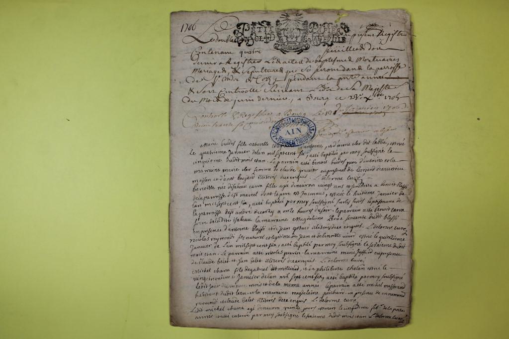 St André de Corcy AD BMS 1669-1730 vue 121