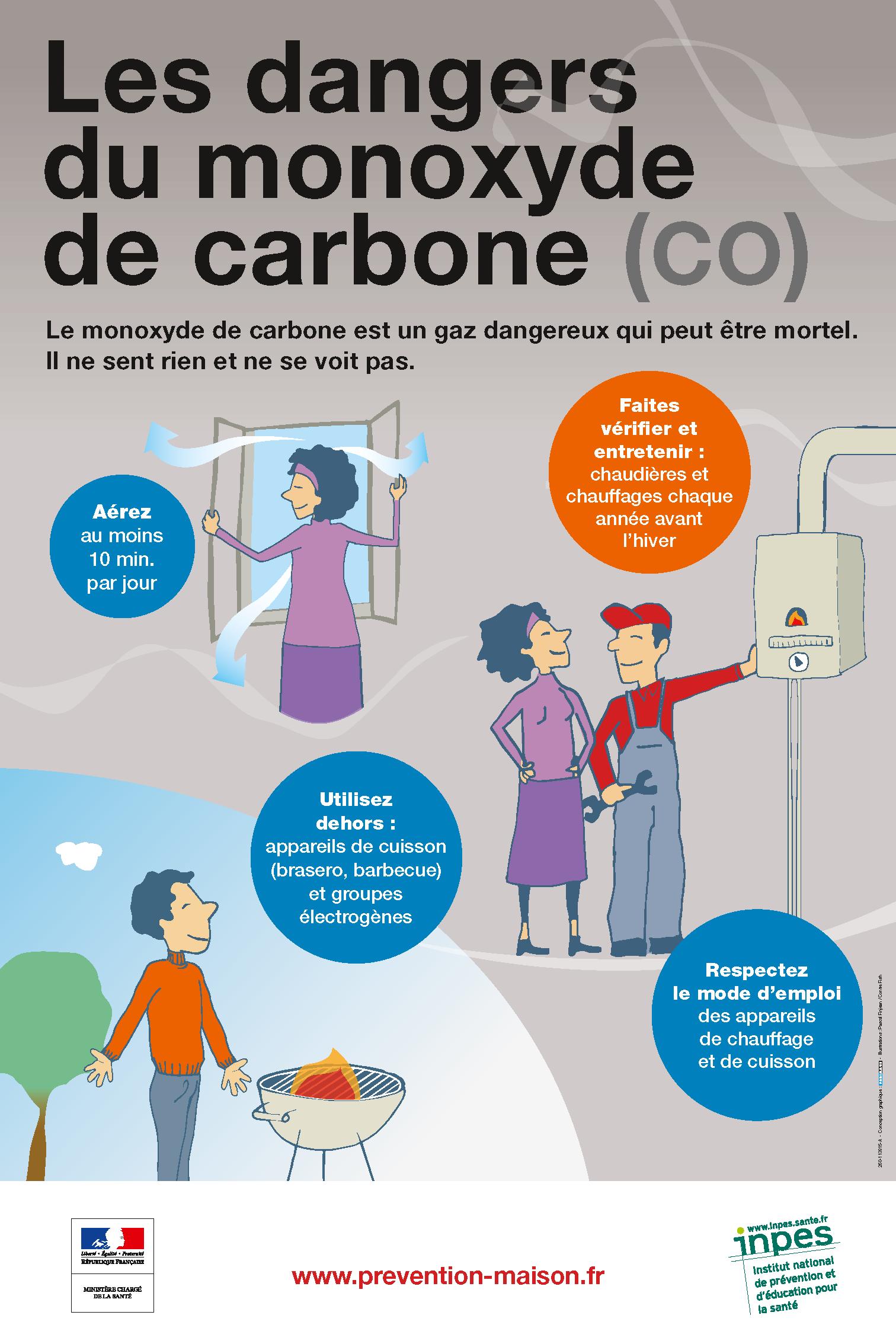 affiche prévention CO